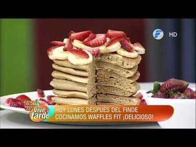 Waffles Fit, la receta del día de Óscar Pintos en VLT