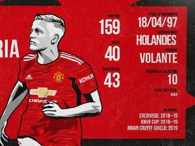 El Manchester United ficha a Donny van de Beek