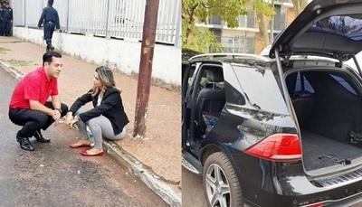 Fiscalía ya tiene en su poder el Mercedes de Marly