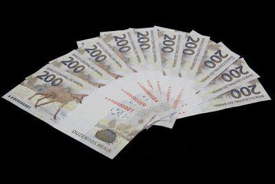 Brasil lanza su billete de 200 reales ante la mayor demanda de dinero en la pandemia