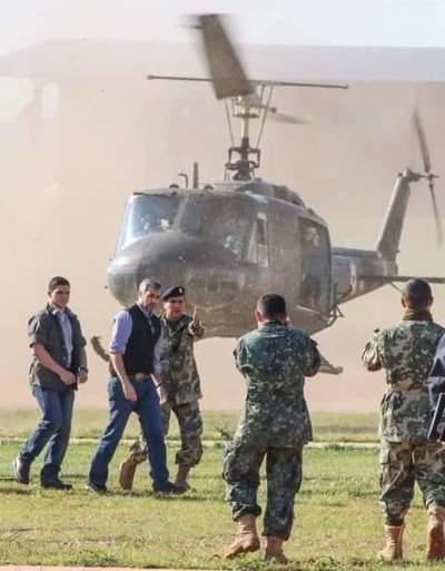 Marito viajó al norte para monitorear operativo
