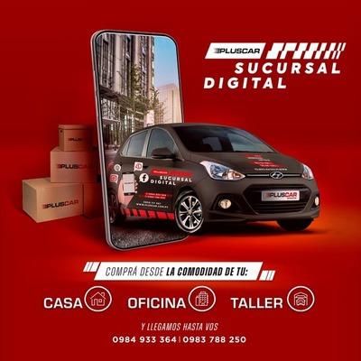Pluscar Repuestos, anuncia el lanzamiento de su Sucursal Digital