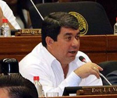 Cámara de Diputados rechaza desafuero de Ever Noguera