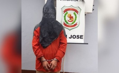 Intentó robar materiales de construcción y terminó detenido