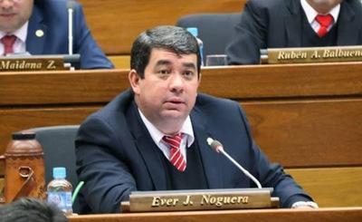 Rechazo del desafuero de Ever Noguera obstaculiza en parte investigación, dice fiscal