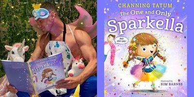 Channing Tatum anunció la publicación de su primer libro para niños