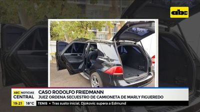 Juez ordena secuestro de la camioneta de Marly Figueredo