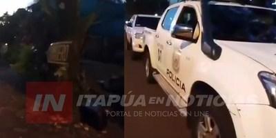 INTENTO DE ASALTO Y TIROTEO EN CERRITO – ENCARNACIÓN