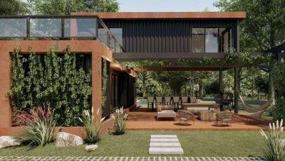 Smartainer prepara casas totalmente equipadas en 90 días (y podés llevarla a donde quieras)