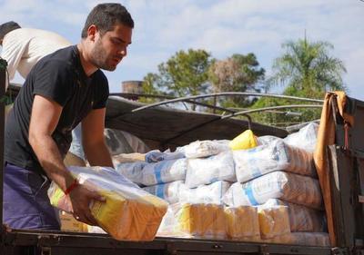 SEN envía alimentos y artículos de limpieza al Alto Paraná