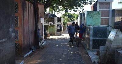 No hay muertos por coronavirus en el cementerio municipal