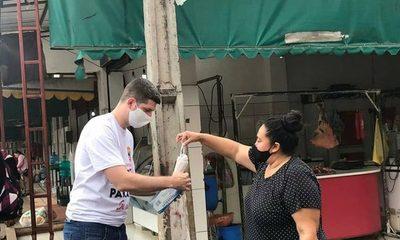 Entregan tapabocas a trabajadores del Mercado de Abasto de CDE – Diario TNPRESS