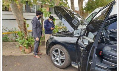 Fiscalía incautó el Mercedes de Marly