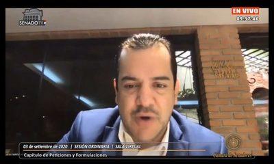 Senadores posterga tratamiento de desafuero de Rodolfo Friedmann