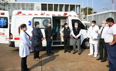 Itaipu pone a disposición ambulancia de UTI para lucha contra el covid