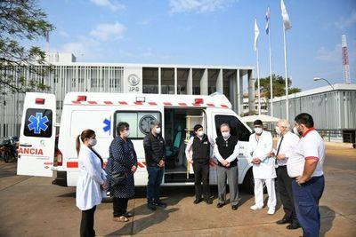 Hospital Integrado del Alto Paraná recibe una ambulancia con UTI