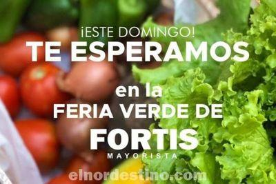 """Fortis Mayorista respaldará a los productores de la ciudad de Concepción realizando una feria denominada """"Domingo Verde"""""""