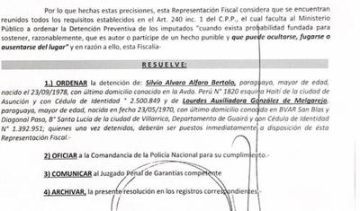 HOY / Por peligro de fuga piden detención del primo y la contadora de Friedmann