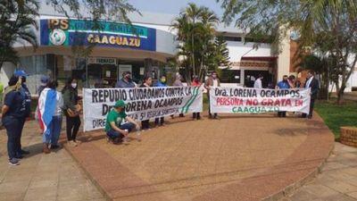 Junta Municipal de Caaguazú exige destitución de directora sanitaria