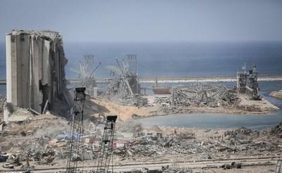 Detectaron respiración y latidos entre los escombros que dejó la explosión en Beirut