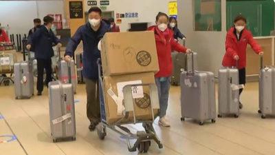 Vacuna china contra COVID-19 llega a Perú para ensayos en voluntarios