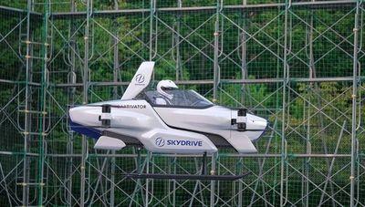 SkyDrive prueba el vehículo volador SD-03: ¿llegó el futuro?
