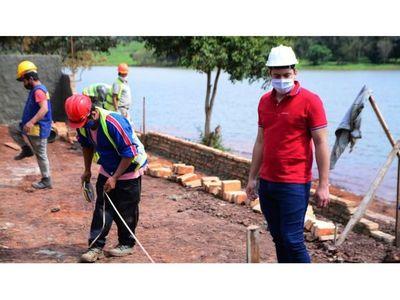 Necesitan bajar nivel del lago Acaray para seguir proyecto de la costanera
