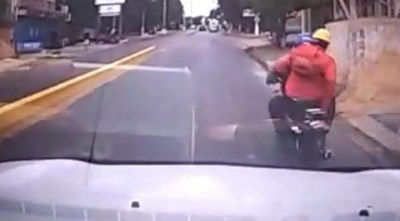 """Fiscal no imputará a conductor que arrolló a motochorros: """"obró conforme a la ley y ha colaborado con la justicia"""""""