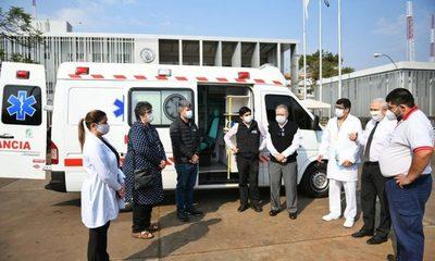 ITAIPU pone a disposición ambulancia con UTI para lucha contra el COVID-19 en Alto Paraná – Diario TNPRESS