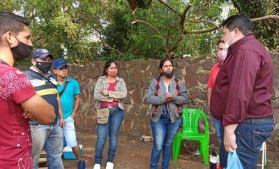 Vendedores de frutas y verduras deben ser desalojados de avenida de Pedro Juan Caballero