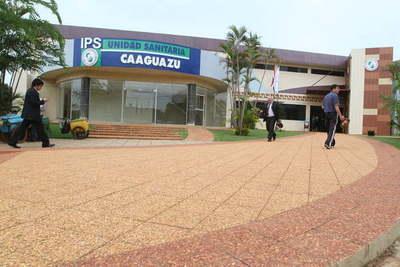 Revierten decisión de convertir el IPS de Caaguazú en centro de atención de afecciones respiratorias