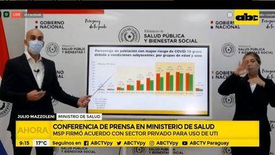 COVID-19: 1 de cada 5 paraguayos tiene al menos un factor de riesgo, según Mazzoleni