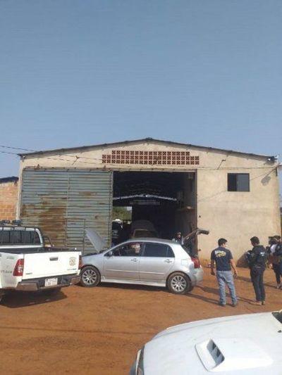 Fiscalía allana un taller vinculado a una red de robacoches y al narcotráfico