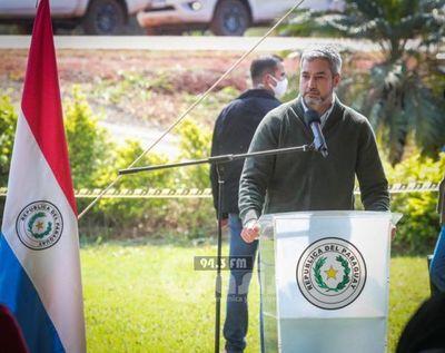 Mario Abdo dice que niñas abatidas por la FTC fueron expuestas de manera cobarde