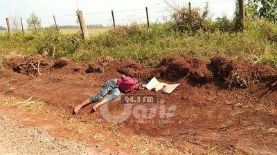 Hallan cadáver maniatado con panfleto de los supuestos Justicieros de la Frontera en zona de Zanja Pyta