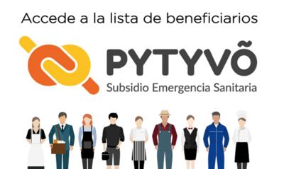 Hasta la fecha 597.000 personas ya fueron beneficiadas por Pytyvo 2.0