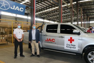 Convenio Cruz Roja Paraguaya & JAC Paraguay