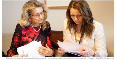 Continúa la presión sobre la ex ministra finlandesa cristiana por su visión sobre la homosexualidad