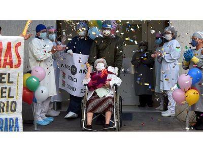 Con 92 años, ganó la batalla al  coronavirus