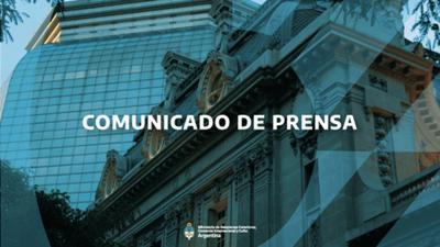 Contundente comunicado del gobierno argentino