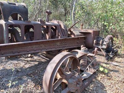 Hallan restos de vehículos que serían vestigios de la Guerra del Chaco