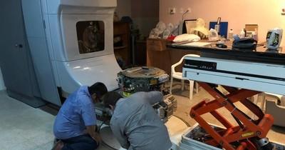 La Nación / Incan sigue sin equipo de radioterapia