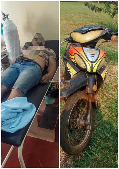 Explosión de cubierta causa muerte de motociclista