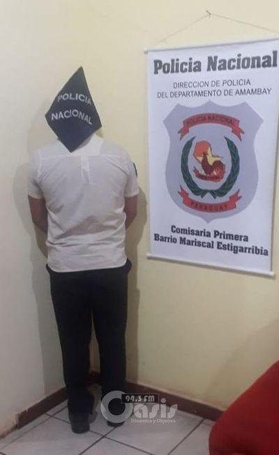 Guardia de casa de cambios fue detenido por supuestamente violar a una mujer en Pedro Juan