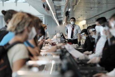Costa Rica recibe los primeros vuelos desde Estados Unidos durante la pandemia