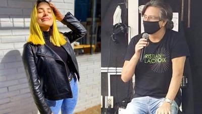 """HOY / Para Mili, cabello """"amarillo tallarín"""" de Kassandra resta seriedad a informativo de Telefuturo"""