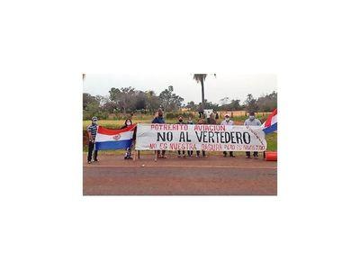 Artigas: Protestan en  contra de ubicación para vertedero