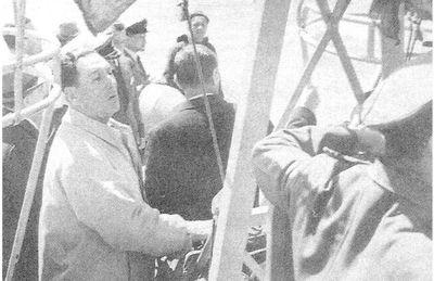 Perón en Villarrica