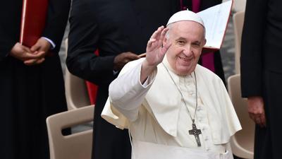 El papa saldrá de Roma por primera vez desde la pandemia