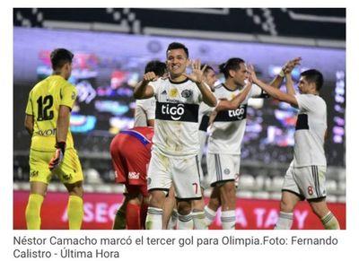 Olimpia golea a Nacional en Para Uno y no tira la toalla